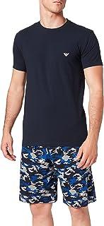 Emporio Armani Men's Underwear Pyjamas Camouflage Pajama Set