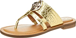 GUESS Genera Women's Shoes, Gold (Gold GOLLL), 37 EU
