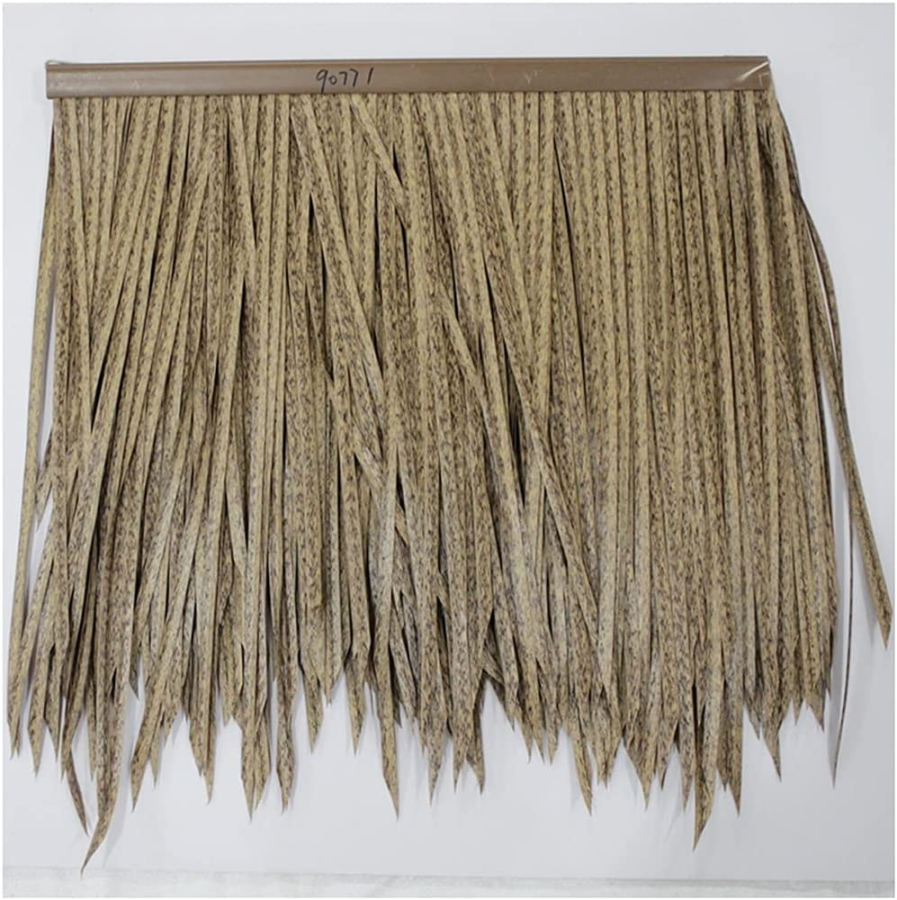 Thatch Palm Leaf Plastic thatch roof PVC Cheap Ranking TOP16 super special price Straw Simulated