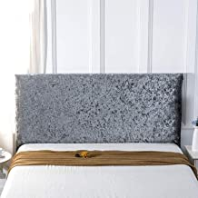 Stretch Bed Headboard Cover Slipcover Elastic Bed Head Cover Velvet Thicken Elastic All-Inclusive Bedside Decoration Cover...