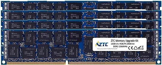 ZTC 64GB (4 x 16GB) Memory Upgrade Kit for Mac Pro 2013 PC3-14900 1866MHz DDR3 ECC Registered SDRAM