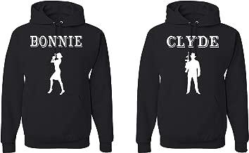Tutiinca Bonnie & Clyde Unisex Matching Couples Hoodies