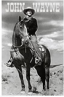 John Wayne (On Horse) Movie Poster Print 24 x 36in