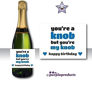 idéal anniversaire Champagne personnalisée étiquette du flacon mariage cadeau de graduation