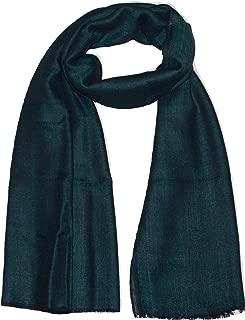 Reversible Pashmina & Fine Wool, Paisley Jacquard, Melange, Super Soft, Light, Warm Scarf.
