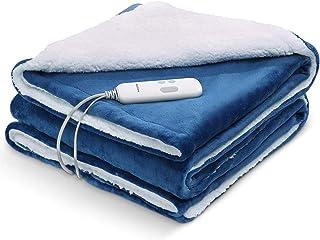 Heizdecke 130 * 180cm Wärmedecke mit Abschaltautomatik Überhitzungsschutz Elektrische..