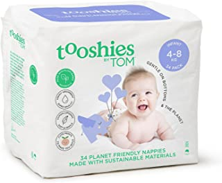 Tooshies by TOM eco Nappies - Infant Size 2 (34pk)