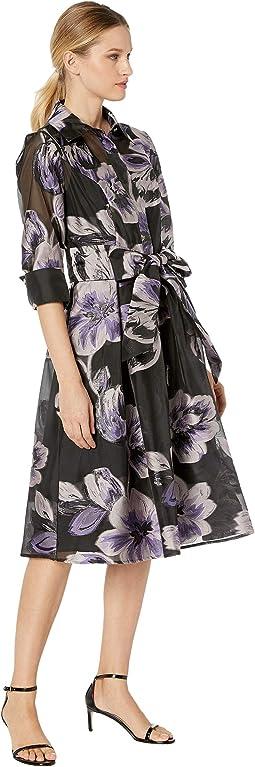Black/Blush Floral