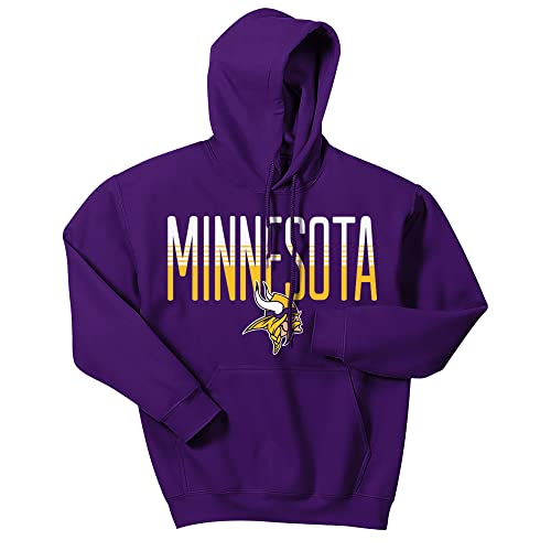 cheap for discount a35a1 93490 Vikings Sweatshirt: Amazon.com