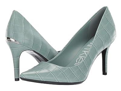 Calvin Klein Gayle Pump (Petal Green) High Heels