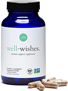 Sponsored Ad - Ora Organic Vitamin C Immunity Booster- Well-Wishes- Acerola Extract, Elderberry, & Echinacea- High Antioxi...