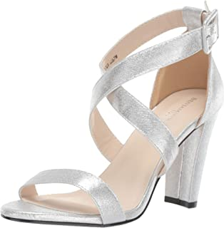 Touch Ups Women's Colbie Heeled Sandal, Silver, 8 M US