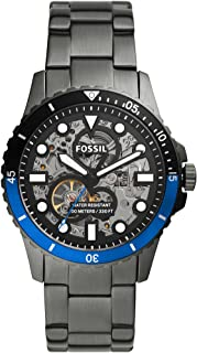 FOSSIL MENS FB - 01 AUTOMATIC STAINLESS STEEL BAND WATCH - ME3201