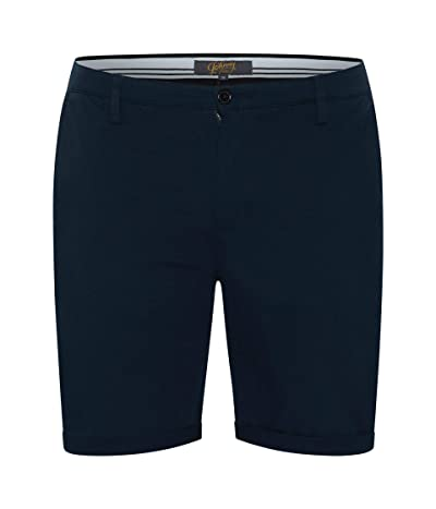 Johnny Bigg Big Tall Charlie Canvas Shorts (Navy) Men