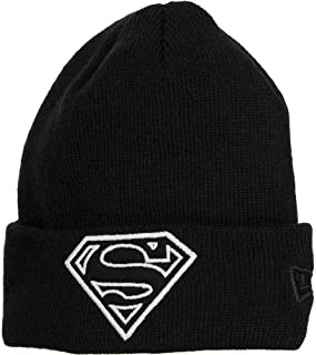 black superman beanie