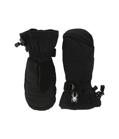 Spyder Kids Finn (Little Kids/Big Kids) (Black) Extreme Cold Weather Gloves