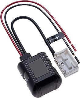 Auto Bluetooth Modul 12 polig Kompatibel mit BWM Serie 5 E60 E61, Serie 6 E63 E64, X3 E83, Z4 E85 Radio   Zusatzempfänger Kabel AUX In Audio Adapter   Stereokabel Kabel Sender   12V
