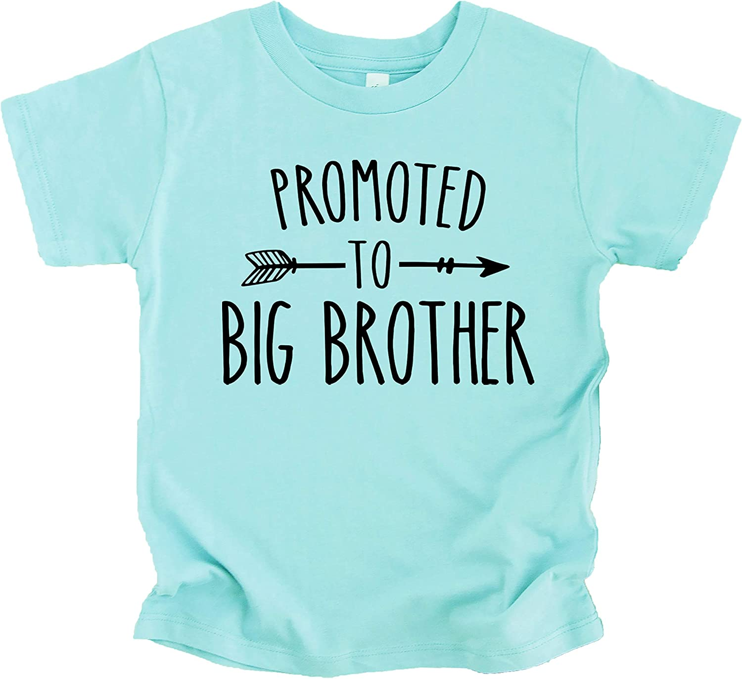 Promoted to Big Brother Arrow Sibling Reveal Announcement Shirt for Boys Big Brother Sibling Outfit