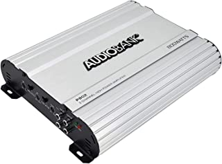 Audiobank 2 Channels 800 WATTS Bridgedable Car Audio Stereo Amplifier P802 Heavy-Duty Aluminum Alloy Heatsink | Class A-B ...