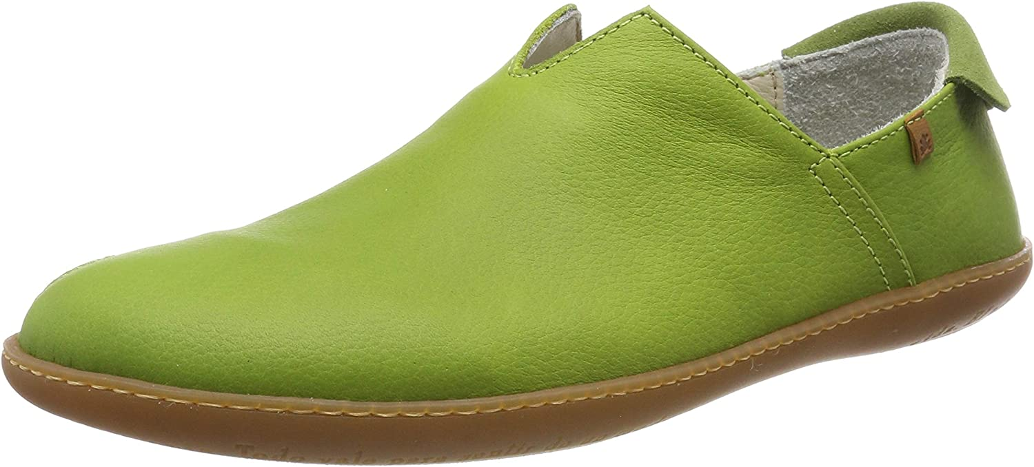 El Naturalista Unisex Adults' N275 Soft Grain Lime El Viajero Slip On Trainers