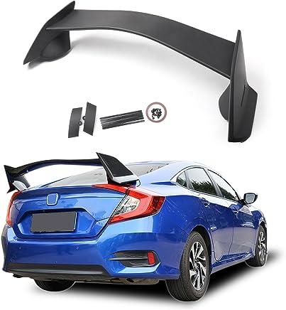 Artudatech Alerón trasero de plástico ABS estilo R para coche, alerón trasero para H-O-N-D-A Civic
