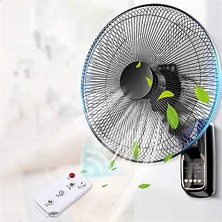 Ventilador De Pared Wall Fan con Temporizador Remoto Ventilador De 3 Velocidades Montado En La Pared Industrial, Hogar, Ventilador De Dormitorio 50W Wall Fan (Size : 18IN)