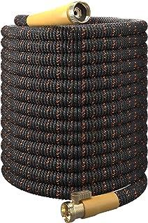 TBI Pro Garden Hose Expandable Flexible - Best Super Durable 3750D Fabric   4-Layers Flex Strong Latex   No-Rust Brass Con...