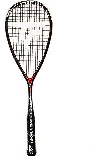 Tecnifibre CARBOFLEX 125 S Adult Squash Racquet, Black, One Size