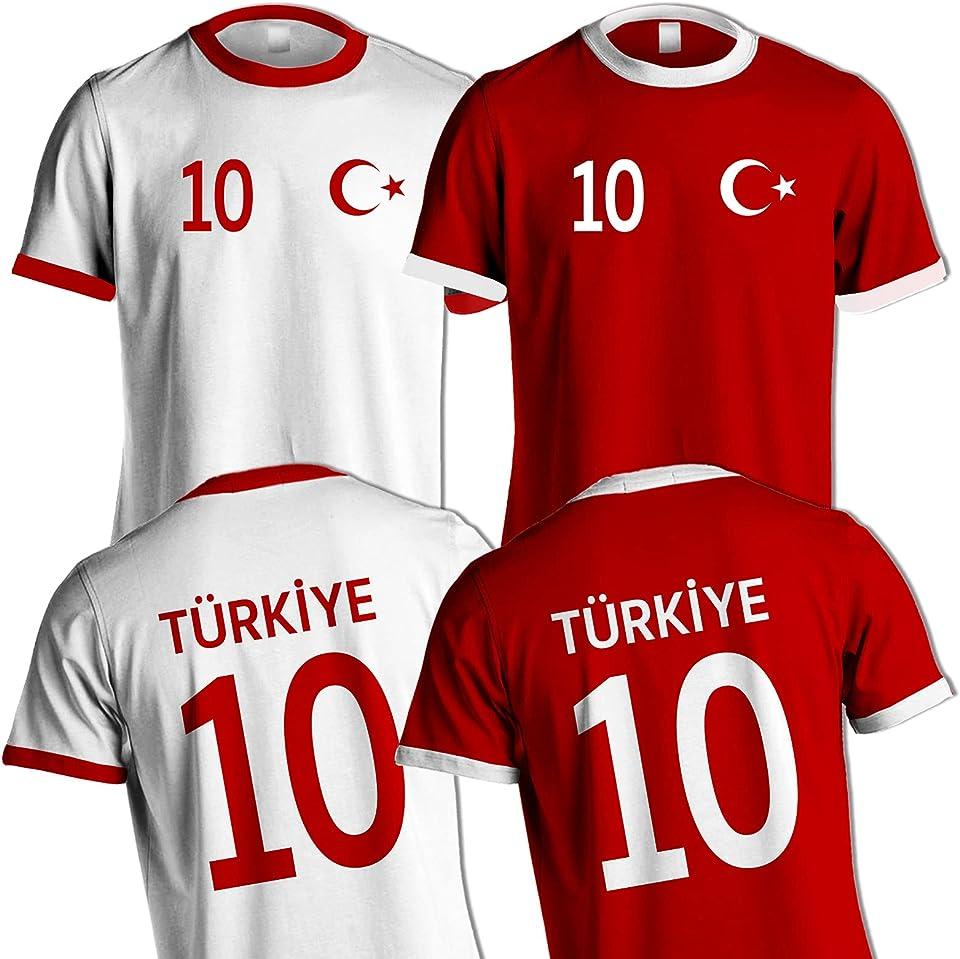 Türkei Türkiye T-Shirt Fussball WM EM Name & Nr. Trikot Geschenk Idee Tshirt