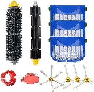 BBT ロボット掃除機 600シリーズ交換用 10点セット 取り換え メインブラシ フレキシブルブラシ エッジブラシ ブリストルブラシ ビーターブラシ クリーニングツール