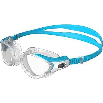 Cressi Premium Gafas de Natación para Adulto, Fox, Blanco/Lentes ...