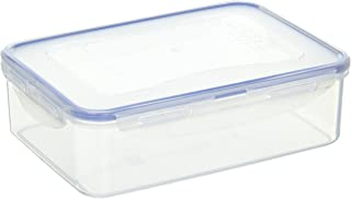 (Pack of 4) LOCK & LOCK Airtight Rectangular Food Storage Container 54.10-oz / 6.76-cup