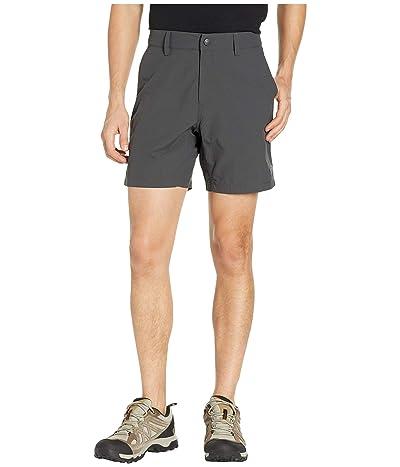 The North Face Flat Front Adventure 7 Shorts (Asphalt Grey) Men