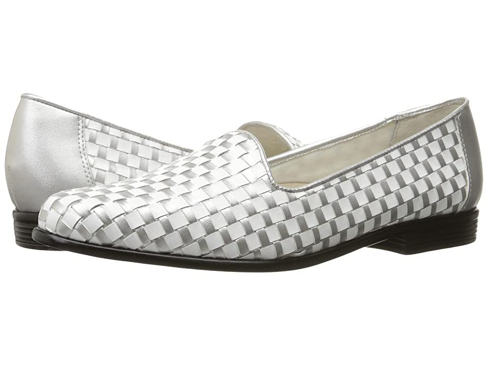 Image of Trotters Liz (White/Silver) Women's Shoes