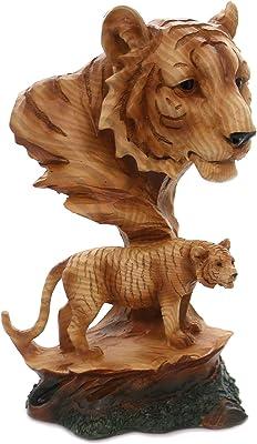 unison gifts MMH-461 9.5 INCH Tiger Scene, Multicolor