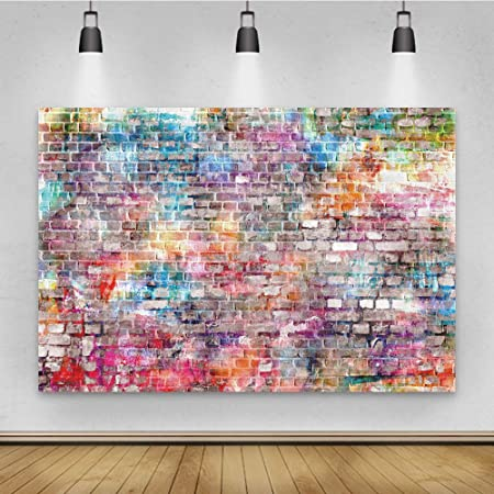 OFILA Grunge Wall Backdrop 3x5ft Polyester Fabric Abstract Texture Photography Background Artistic Photo Background Digital Photos Wall Decor Photos Props