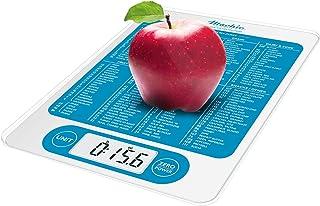 Mackie C19 balanza digital de cocina para alimentos, pesas y onzas de peso digital multifunción para contador de calorías y pesas de alimentos