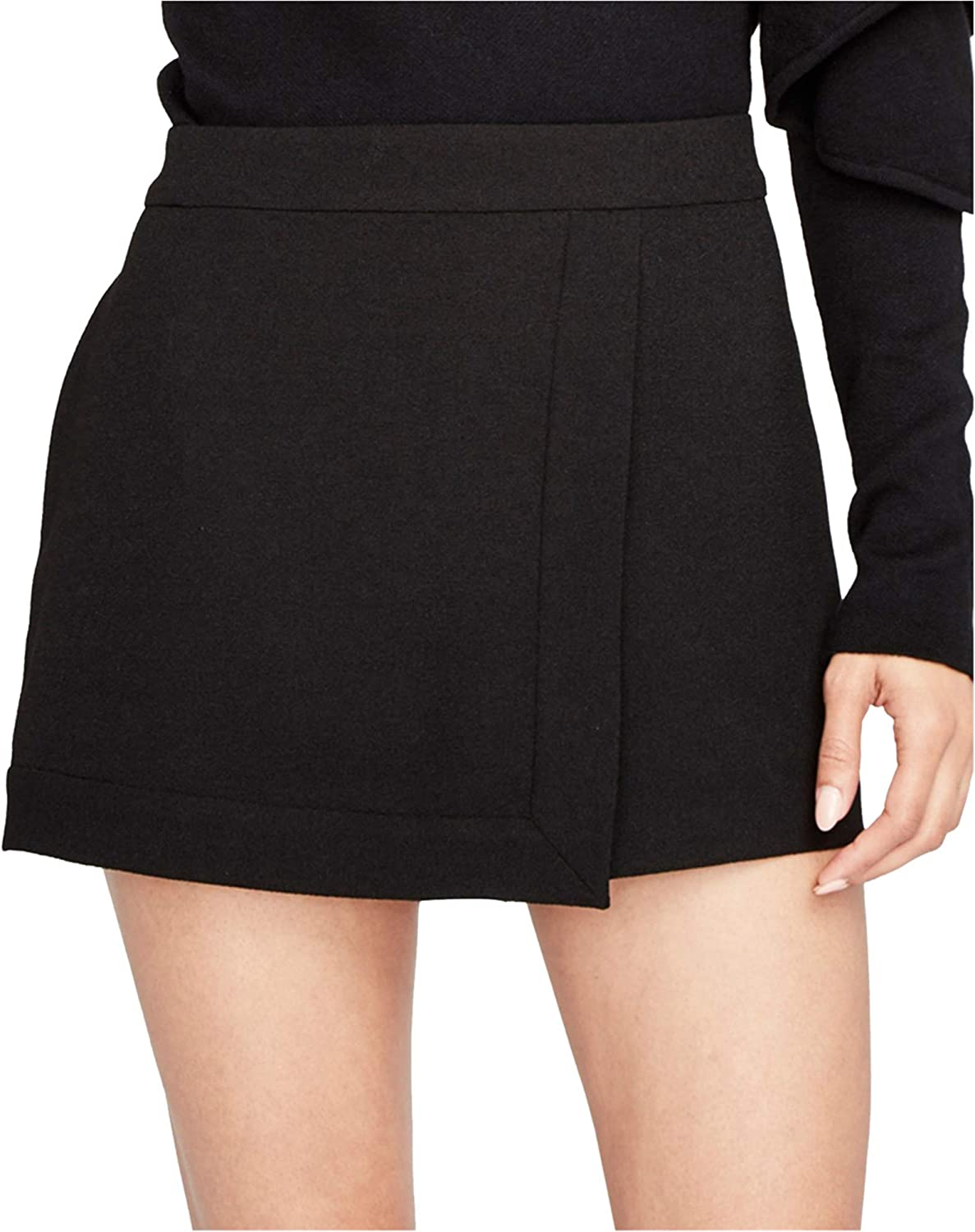 Rachel Roy Womens Faux Wrap Skort Skirt