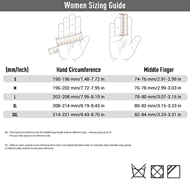 Vgo Ladies' Goatskin Leather Gardening Gloves (Size M, Purple, GA7454)