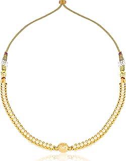 Vighnraj Jewels Traditional Wedding Maharashtrian kolhapuri Thushi Gold Plated 1 Gram Gold Design Jewellery For Women And ...