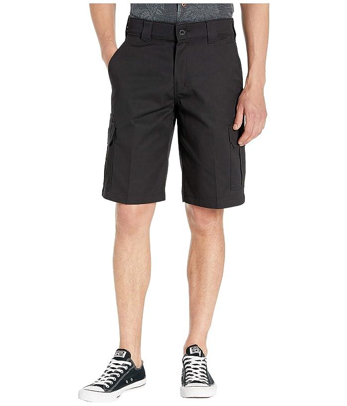 Dickies 11 Cargo Work Active Waist Shorts Regular Fit (Black) Men