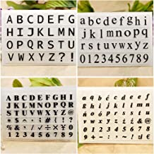 Essential Uppercase Letters /& Numbers Hero Arts LP405 Woodblock Stamps