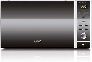 Caso MCDG25 3390 MCDG 25 Master-Microondas, con convección y Doble Grill, Color INOX, 900 W, 25 litros, Acero Inoxidable
