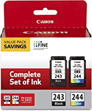 $54 » Canon 2 Pack Ink Package with PG-243 Black, CL-244 Color Ink Cartridge