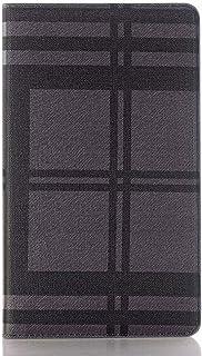 محفظة Yhuisen بتصميم شبكة من جلد البولي يوريثان قابلة للطي مع فتحات للبطاقات وحامل ميزة غطاء لهاتف Huawei MediaPad M3 8.3 ...