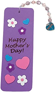 mother's day craft bookmark