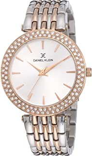 Daniel Klein DK12066-2 Women's Silver Dial Analogue Watch