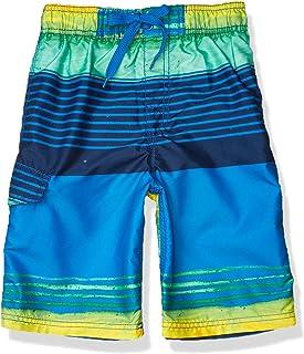 Kanu Surf Boy's Yolo Quick Dry UPF 50+ Beach Swim Trunk Swim Trunks