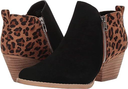 Black/Tan/Leopard