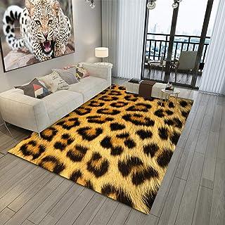 Tapis Chambre Tapis de Salon Style Moderne Impression et retournement 3D Paillasson intérieur extérieur antidérapant, 200X...